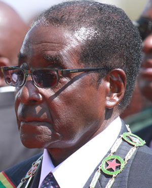 Robert Mugabe - at the least he is a racist guilty of genocide